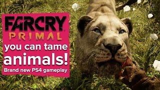 getlinkyoutube.com-Far Cry Primal gameplay - you can tame animals!