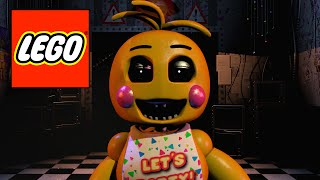 How to build LEGO characters from FNAF 2 Part 5: Toy Chica (HD)