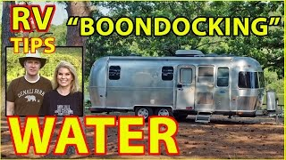 "getlinkyoutube.com-RV ""Boondocking"" & WATER - How to Stretch It Out"