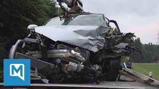 Video Tödlicher Verkehrsunfall bei Traubing im Landkreis Starnberg