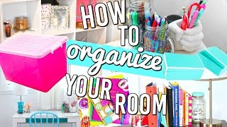 getlinkyoutube.com-How To Organize Your Room! Organization Hacks, DIY and more!