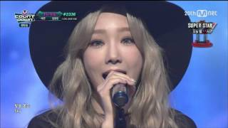 [HD 1080p/ 60fps] 151015 Taeyeon(태연) - I @M!CountDown