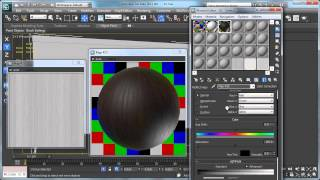 getlinkyoutube.com-Producing the wood material in 3Ds Max