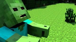 getlinkyoutube.com-(100 SUB SPECIAL) Minecraft Zombie Intro FREE DOWNLOAD (Cinema 4D)
