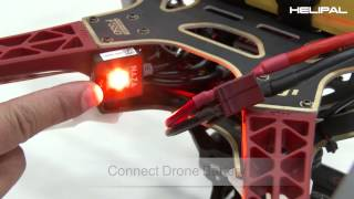 getlinkyoutube.com-GPS Compass Calibration of DJI F550 with NAZA lite - HeliPal.com
