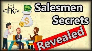 SALES Secrets Revealed - Top 7 Salesmen Techniques