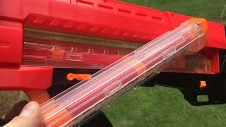 getlinkyoutube.com-Can the Nerf Rival Zeus fire Mega Darts?  Yes It Can!