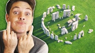 getlinkyoutube.com-I RUINED STONEHENGE! (Monumental Failure Gameplay)