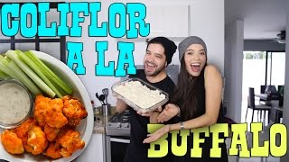 COLIFLOR a la BUFFALO WINGS [Vegan] | gwabir