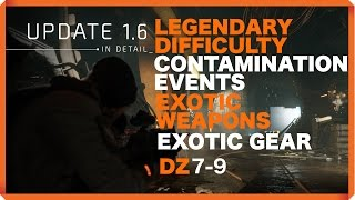 getlinkyoutube.com-The Division | LEGENDARY DIFFICULTY | CONTAMINATION EVENTS | ELITE CLEANERS | EXOTIC ITEMS  | 1.6