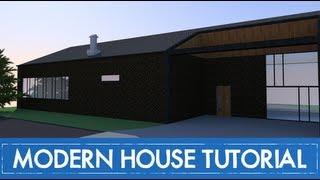 getlinkyoutube.com-How to design a modern house in Sketchup - IN-DEPTH TUTORIAL