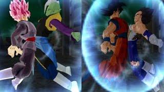 getlinkyoutube.com-Fusion Vegetto Blue y Trunks Rage VS Fusion Zamasu Parte 2 Dragon Ball Tenkaichi 3 Mod Historia