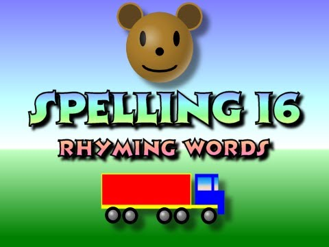 Children's: Spelling 16 - Rhyming Words