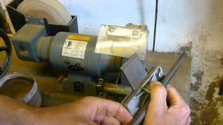 getlinkyoutube.com-Hobelmesser für Handhobel selber schärfen und abziehen