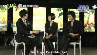 [MVN] Vietsub HD  Sect!on TV - Lee Min Ho & Park Shin Hye