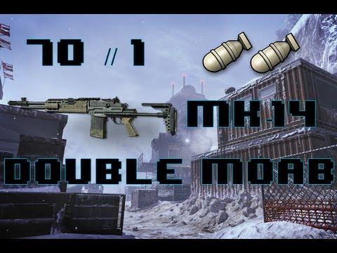 MW3 : DOUBLE MOAB : 70-1 // MK14 // 9min41