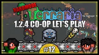Lucky Pirate Invasion! Destroying The Destroyer! || Terraria Co-Op Survival [Episode 12]