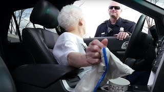 GRANDMA GETS PULLED OVER BY THE COPS!! | Ross Smith width=