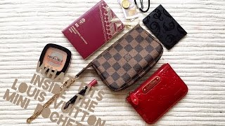 getlinkyoutube.com-WHAT FITS INSIDE/HOW I USE - LOUIS VUITTON MINI POCHETTE!