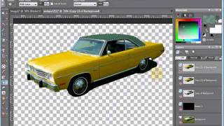 getlinkyoutube.com-Paint Shop Pro Tutorial - Erase Car Photo Background & Isolate Image by VscorpianC