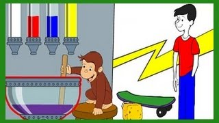 getlinkyoutube.com-Curious George - Mix and Paint - Curious George Games - PBS KIDS