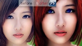 getlinkyoutube.com-Edit Foto Model Karakter [Games] Warna 3D Photoshop