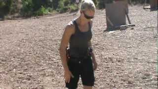 getlinkyoutube.com-Janna Reeves taking  Hostage Taker Shooting Course at Sovereign Arms