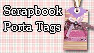 getlinkyoutube.com-Porta Tag / Tarjetas - Tutorial Scrapbook