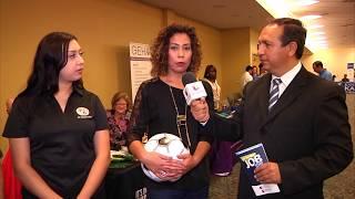 El 25th Job Fair organizado por Univisión fue todo un éxito.