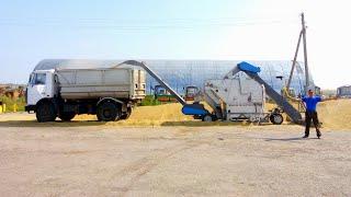 getlinkyoutube.com-6-Д.Уборки 2016! Сортировка ALFA-50 в работе. Все на уборке пшеницы. (124-День 3-Сезона)