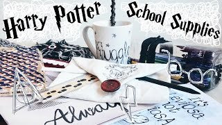 getlinkyoutube.com-DIY Harry Potter School Supplies & Organisation Ideas! 10 Easy Crafts for Back to School || Adela