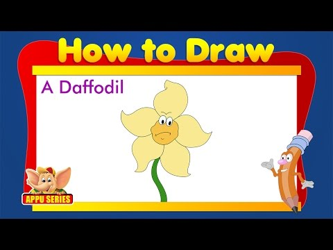 Learn to Draw Flower - Daffodil