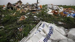 ناظران سازمان امنیت و همکاری اروپا از محل سقوط هواپیمای مالزی بازدید کردند