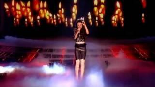 getlinkyoutube.com-Cher Lloyd sings Love The Way You Lie - The X Factor Live Semi-Final (Full Version)