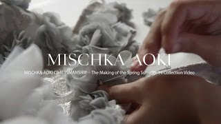 getlinkyoutube.com-MISCHKA AOKI Craftsmanship - The Making of The Spring Summer 14 Couture Collection