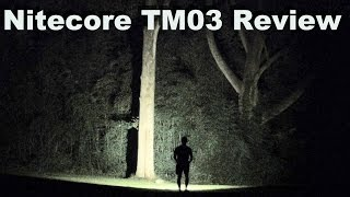 Nitecore Tiny Monster TM03 Flashlight Review.  The brightest single 18650 light ever.