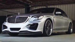 "getlinkyoutube.com-Lorinser Mercedes-Benz S550 on 22"" Lexani Forged Wheels"