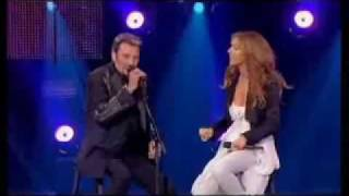 Blueberry Hill  _   Celine Dion and Johnny Hallyday
