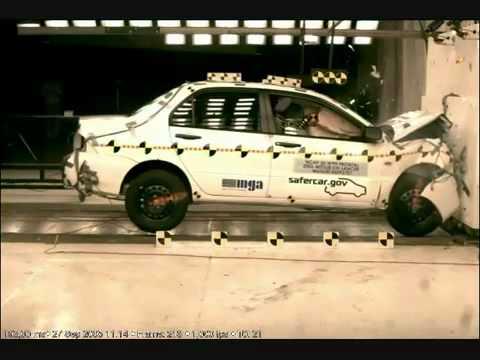 Mitsubishi Lancer IX 2006 Frontal Impact NHTSA