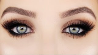 getlinkyoutube.com-How To: Easy Smokey cat Eye | Jaclyn Hill