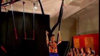 getlinkyoutube.com-Gabriel Lima - Apresentação de circo, Tecido Marinho