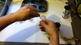 getlinkyoutube.com-Making Coil for Orgonite TB/SBB