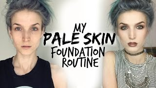 getlinkyoutube.com-My Pale/Fair Skin Foundation Routine