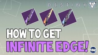 getlinkyoutube.com-Destiny How to Get Infinite Edge Swords! Refer a Friend Program!