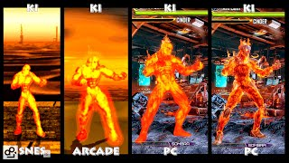Killer Instinct CINDER Graphic Evolution 1994-2016 | SNES ARCADE PC | PC ULTRA