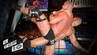 getlinkyoutube.com-The Rock's most iconic Rock Bottoms: WWE Top 10