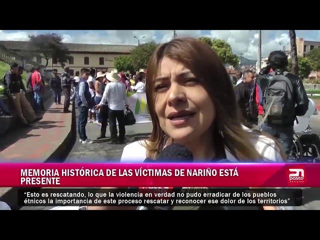Memoria histórica de las víctimas de Nariño está presente