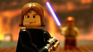 getlinkyoutube.com-LEGO Anakin VS Obiwan