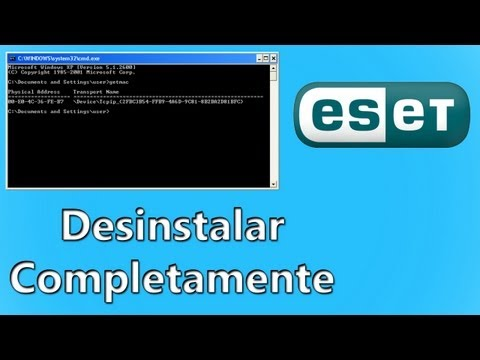 Desinstalar Eset Smart Security 4 o 5 (Bloqueado)