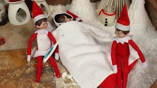 getlinkyoutube.com-Elf on The Shelf - Bring home sick elf friend
